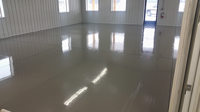 Concrete Floor Coating Residential And Commercial