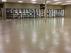 concrete flooring covering